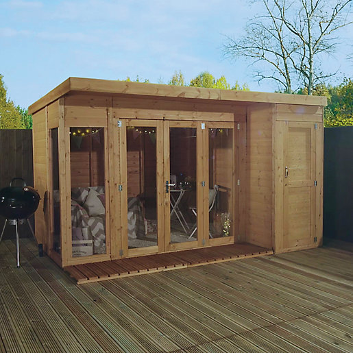 Mercia 12 x 8 ft Large Garden Room