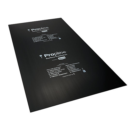 Proplex Black Surface Protection Sheet 2400 x 1200