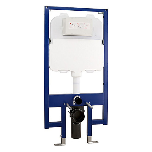 Abacus Slimline WC Frame with Dual Flush Cistern