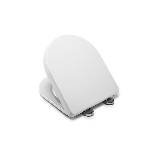 Croydex Eyre D Shaped Flexi Fix Toilet Seat