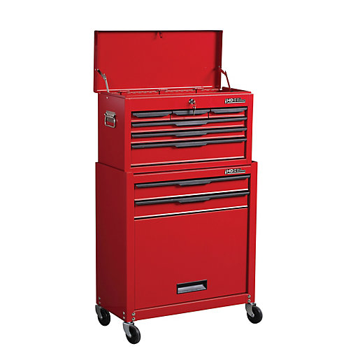 Hilka Heavy Duty 8 Drawer Tool Chest and