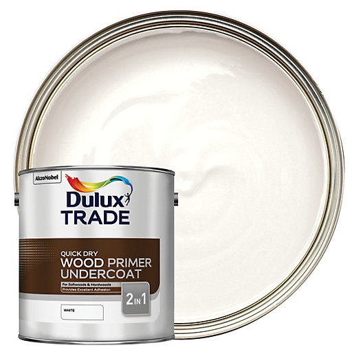 Dulux Trade Quick Dry Wood Primer & Undercoat
