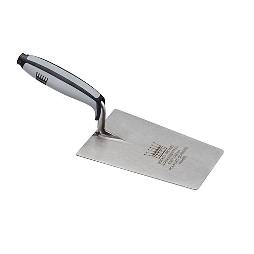 Ragni Carbon Steel Bucket Trowel with Rounded edges