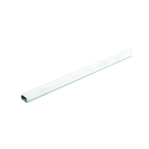 Wickes Oval Conduit - White 16mm x 2m