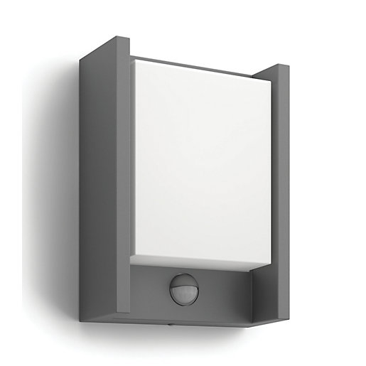 Philips Arbour LED Wall Lantern with PIR -