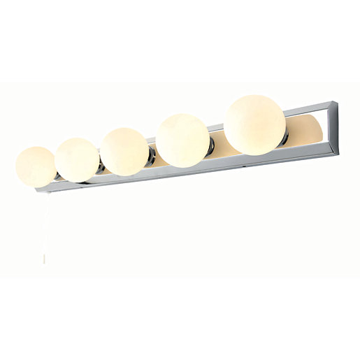 Spa Ara 5 Light Chome Retro Spotlight Bar