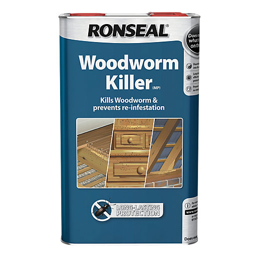 Ronseal Woodworm Treatment Killer - 1L