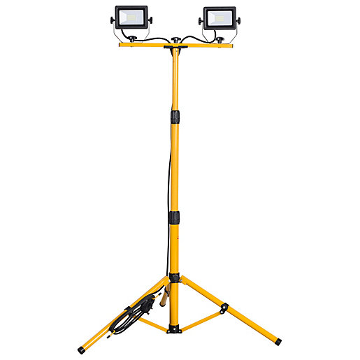 Portable LED Worklight with Tripod - 2 x
