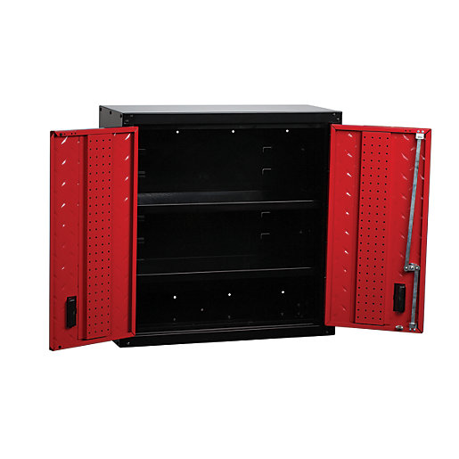 Hilka Garage Storage Locking Wall Hung Unit -