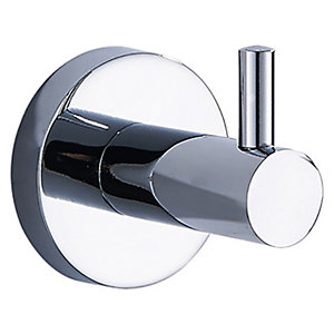Wickes Nola Chrome Robe Hook