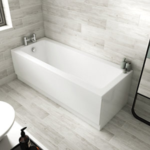 Wickes Universal End Bath Panel - 800 x 510mm