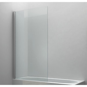 Wickes 6mm Half Framed Radius Bath Screen - 1400 x 900mm