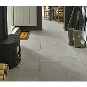 Wickes Como Travertine Porcelain Wall & Floor Tile - 600 x 400mm