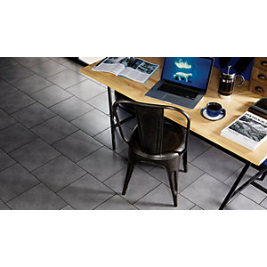Wickes Urban Grey Ceramic Floor Wall & Floor Tile - 330 x 330mm