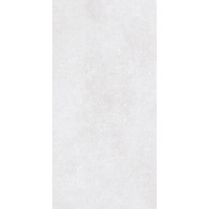 Wickes York White Ceramic Wall and Floor Tile 600 x 300mm Sample