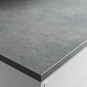 Wickes Brasilia Laminate Bathroom Worktop - 2m x 337mm x 28mm