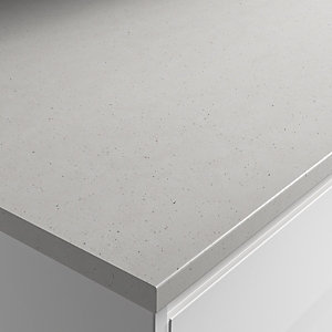 Wickes Chau X Sablee Fizzy Laminate Bathroom Worktop - 2m x 337mm x 28mm