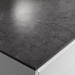 Wickes Cloudy Nova Zenith Bathroom Worktop - 2m x 337mm x 13mm