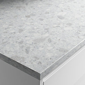 Wickes Nuvolento Laminate Bathroom Worktop - 2m x 337mm x 28mm