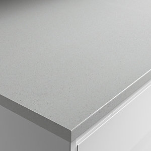 Wickes Stella Dust Laminate Bathroom Worktop - 2m x 337mm x 28mm