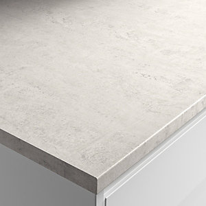 Wickes Woodstone Blanc Laminate Bathroom Worktop - 2m x 337mm x 28mm