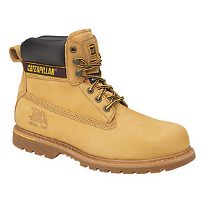 Caterpillar CAT Holton SB Safety Boot - Honey