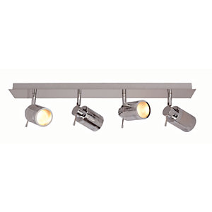 Spa Scorpius Chrome Quad Bathroom Bar Light - 140W