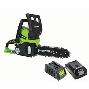 Greenworks Electric Chainsaw with 2AH Battery & Charger