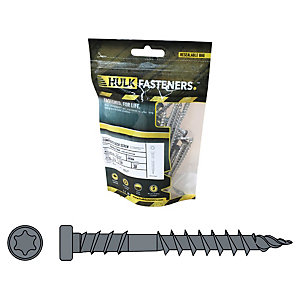 Hulk Composite Decking Screws Infinity Capetown Grey Pk30