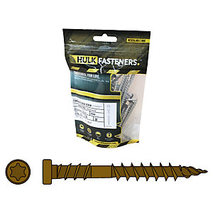 Hulk Composite Decking Screws Infinity Tiger Cove Pk30