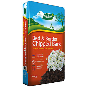 Westland Bed & Border Chipped Bark - 70L