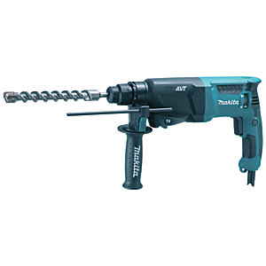 Makita HR2601 SDS+ 2 Function Rotary Corded Hammer Drill 240V - 800W