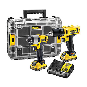 DEWALT DCK211D2T 12V 2 X 2.0Ah XR Cordless Drill And Impact Driver Twin Pack