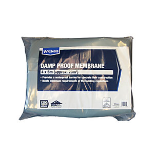 NDC 1200 Gauge Blue Damp Proof Membrane - 4 X 5m