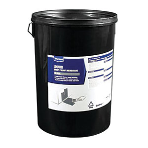 Wickes Bitumen Damp Proof Membrane Liquid - 25L