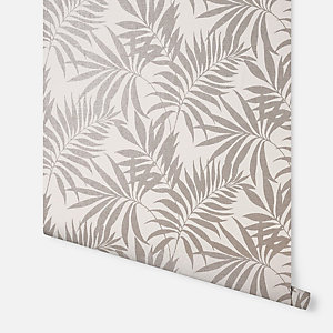 Arthouse Oasis Leaf Taupe Wallpaper 10.05m x 53cm