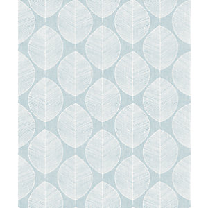 Arthouse Retro Skandi Teal Wallpaper 10.05m x 53cm