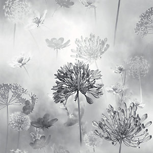 Arthouse Spring Meadow Mono Wallpaper 10.05m x 53cm