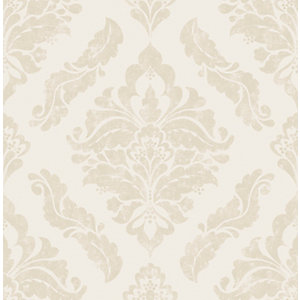 Boutique Damaris Cream Decorative Wallpaper - 10m