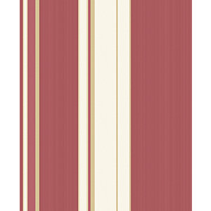 Superfresco Easy Gradient Red Stripe Decorative Wallpaper - 10m