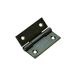 Wickes Butt Hinge - Steel 51mm Pack of 2
