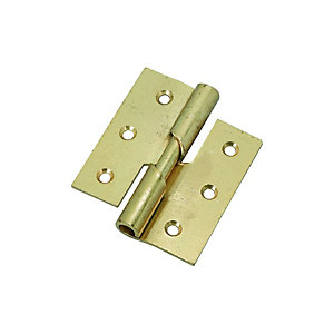Wickes Right Hand Rising Butt Hinge - 76mm Pack of 2
