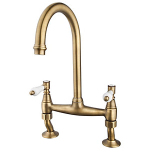 Zores Bridge Antique Brass Tap Hp/lp
