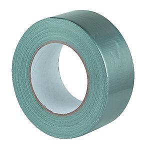 Wickes Cloth Duct Tape Grey - 48mm x 50m