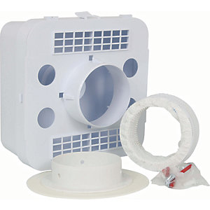 Manrose Indoor Tumble Dryer Kit - 100mm x 1m