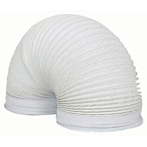 Manrose PVC White Duct - 150mm x 3m