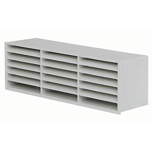 Manrose Slimline PVC Air Brick - White