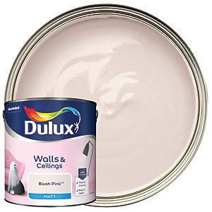 Dulux - Blush Pink - Matt Emulsion Paint 2.5L