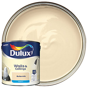 Dulux - Buttermilk - Matt Emulsion Paint 2.5L