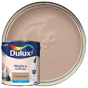 Dulux - Cookie Dough - Matt Emulsion Paint 2.5L